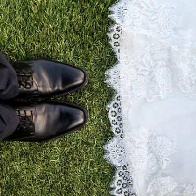 Comfortabele schoenen voor de bruidegom